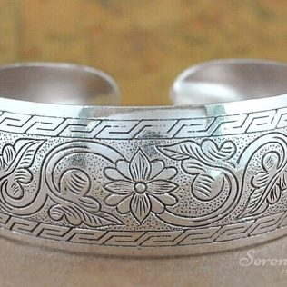 Antique Silver Plated Coachella Hand Jewelry