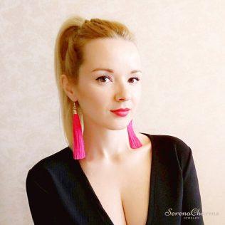 Vintage Ethnic Long Tassel Earrings