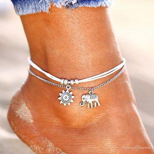 Retro Miracle Ankle Bracelet