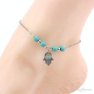Beach Turquoise Anklet Bracelet