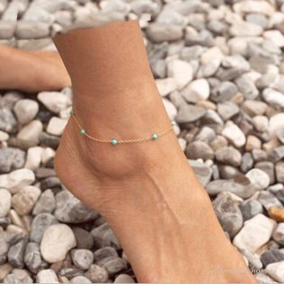 Cute Bead Chain Anklet