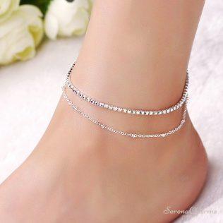 Tender Touch Ankle Bracelet