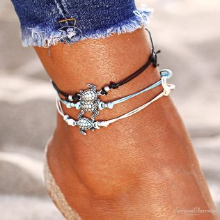 Boho Multiple Layers Anklet