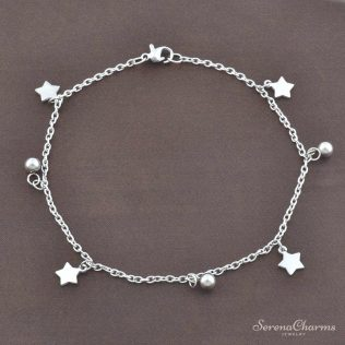 Cute Stainless Steel Anklet