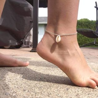 Beach Style Natural Shell Anklet