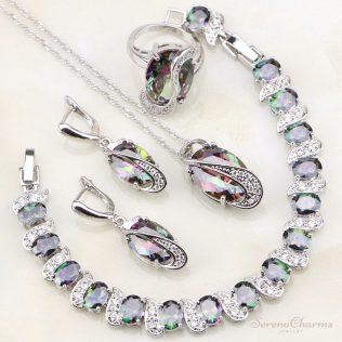 Mystic Rainbow Jewelry Set