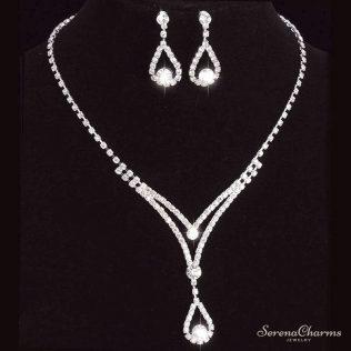 Charming Bridal/Bridesmaid Jewelry Set