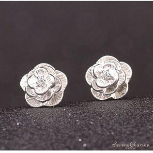 Small Daisy Flowers Earrings