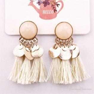 Bohemian Tassel Earrings For Women