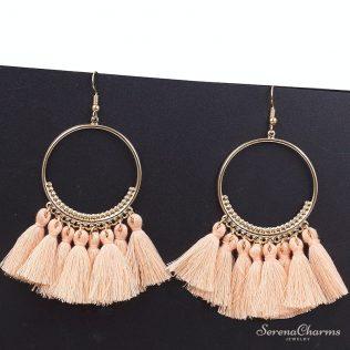 Bohemian Handmade Statement Tassel Earrings