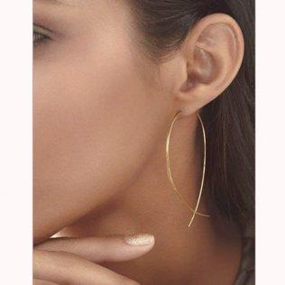 Simple Fish Stud Earrings