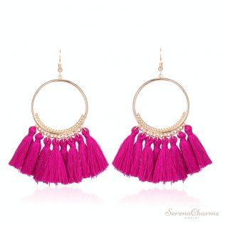 Bohemian Ethnic Fringed Tassel Earrings