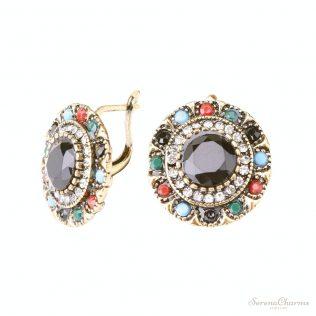 Vintage Trendy Bohemia Crystal Earrings