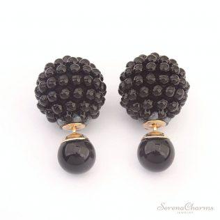 Cute Charm Pearl Statement Ball Stud Earrings