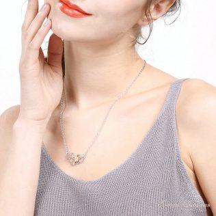 Heart, Honeycomb, Bee, Animal Pendant Choker Necklace