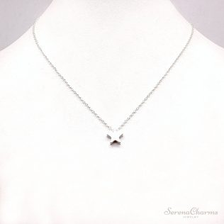 Gold/Silver Chain, Star, Heart Choker Necklace