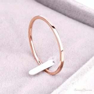 Titanium Steel Anti-Allergy Ring