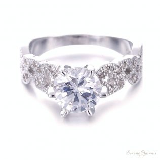 1.5 Carat Aaa Zircon Wedding Engagement Ring
