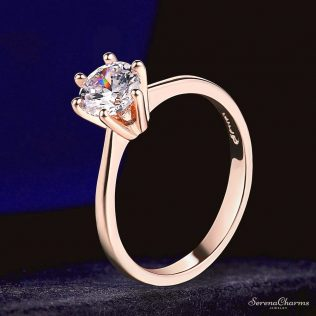 1 Carat Cubic Zirconia Wedding/Engagement Ring