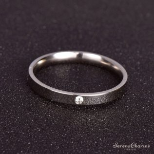Classic Ring, Stainless Steel