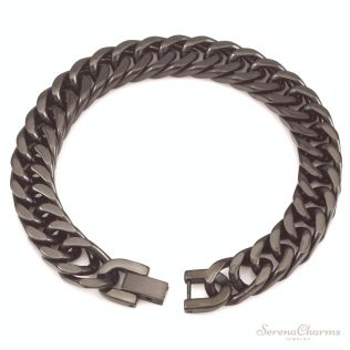 Men Bracelet Silver Color
