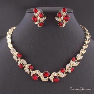 Wedding Dress Jewelry Set