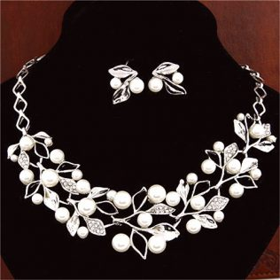 Fashion Simulated Pearl Jewelry Sets