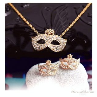 Full Rhinestones Jewelry Set