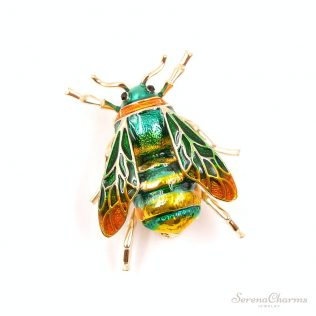 Unisex Insect Brooch