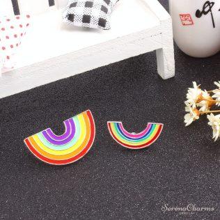 Mini Rainbow Metal Pins