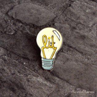 Cartoon Light Bulb Brooch