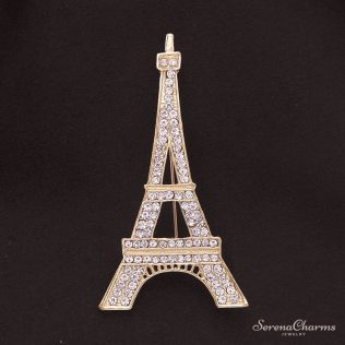 Classic Eiffel Tower Brooch