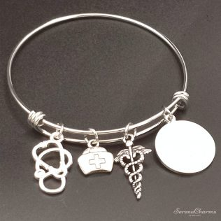 Stainless Steel Expandable Wire Bangle