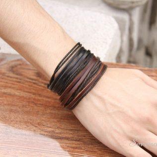 Genuine Leather Bracelet For Men