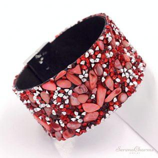 Natural Stone Resin Bracelet