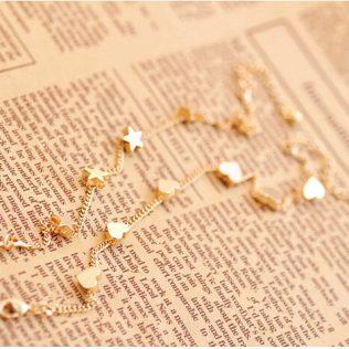 Trendy Stars Chain Bracelet