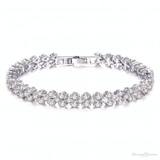 Sparkling Rhinestone Bracelet