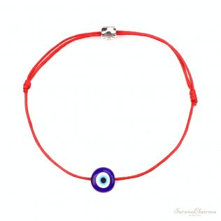 Simple Stylish Blue Eye Bracelet